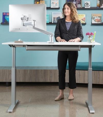 Sit-Stand-Adjustable-Desk-FlexTable